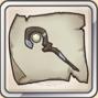 光杖の巻物のアイコン