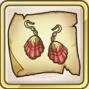 火炎耳飾の巻物のアイコン