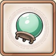 稀少的的水晶球のアイコン