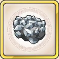 鉄鉱石のアイコン
