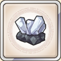 銀鉱晶のアイコン