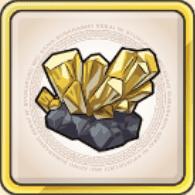 金鉱晶のアイコン