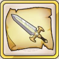 迅雷剣の巻物のアイコン