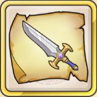魅惑剣の巻物のアイコン