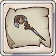 地杖の巻物のアイコン