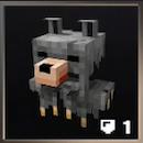オオカミの防具