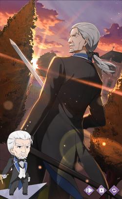 老剣士の風格ヴィルヘルム