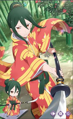 竹林の演武クルシュ