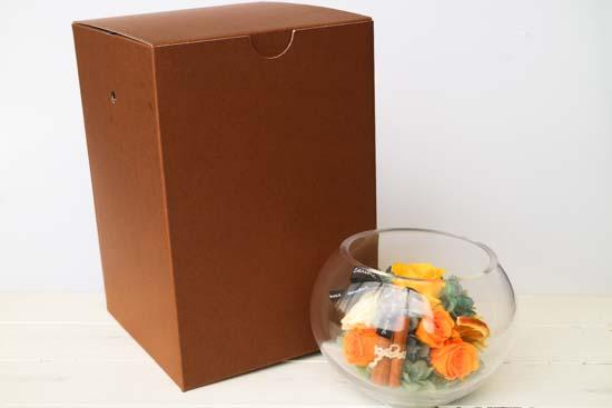 TANP限定 プリザーブドフラワーガラスアレンジ
