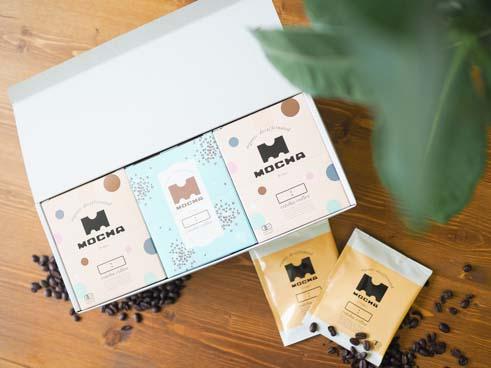 オーガニックカフェインレス【モカ】3箱ギフトセット