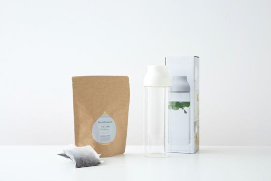 カフェインレス水出しコーヒー(12バッグ)&KINTOホワイトボトルセット