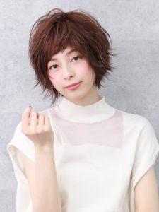 ショートのレングスのヘアカタログ・ヘアスタイル・髪型のイメージ・テイスト画像