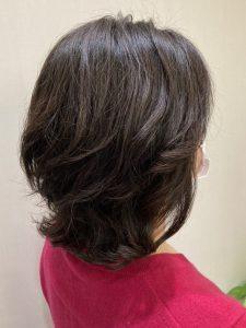50代の年代のヘアカタログ・ヘアスタイル・髪型のイメージ・テイスト画像