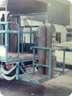 高圧ガスボンベ専用荷台車を開発、実用新案特許出願