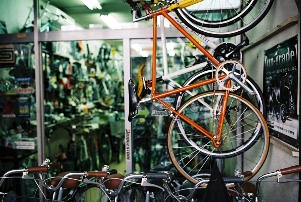 自転車販売店の取り組み
