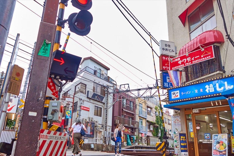 中井駅踏切