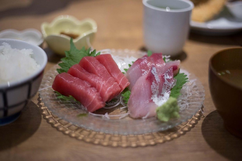 新鮮な魚介を堪能!