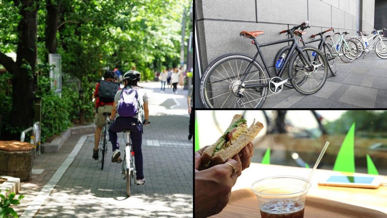 OVE シマノスクエア 散走 サイクリング