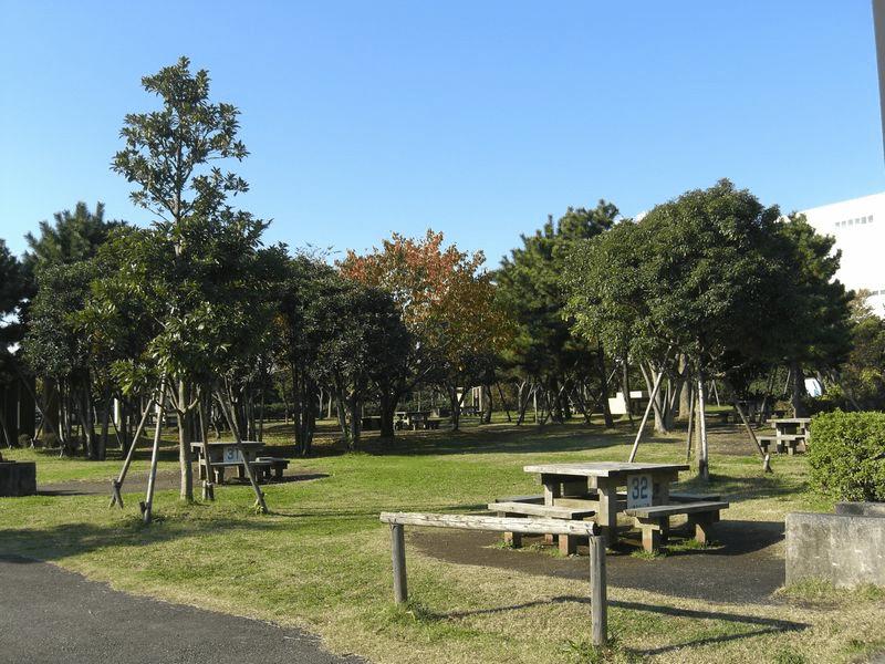 城南島海浜公園キャンプ場(大田区)