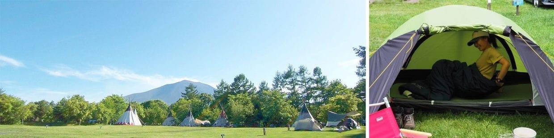 ヒルクライム・ウェルカム!でもキャンプは初めて:北軽井沢スウィートグラス