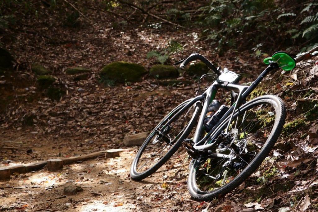 おかげでほとんどの道を問題なく走られるようになりました。あまりに荒れすぎていて自転車を担がないといけないようなシチュエーションを除いては、どんな坂道でもギアを軽くしさえすれば登りきることが出来る安心感というのは、結果として色んな場所に行ってみようと思えるきっかけとなります。