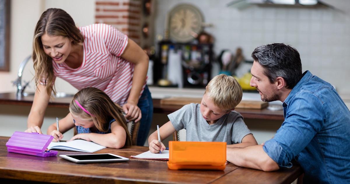 算数的態度が育つ家庭