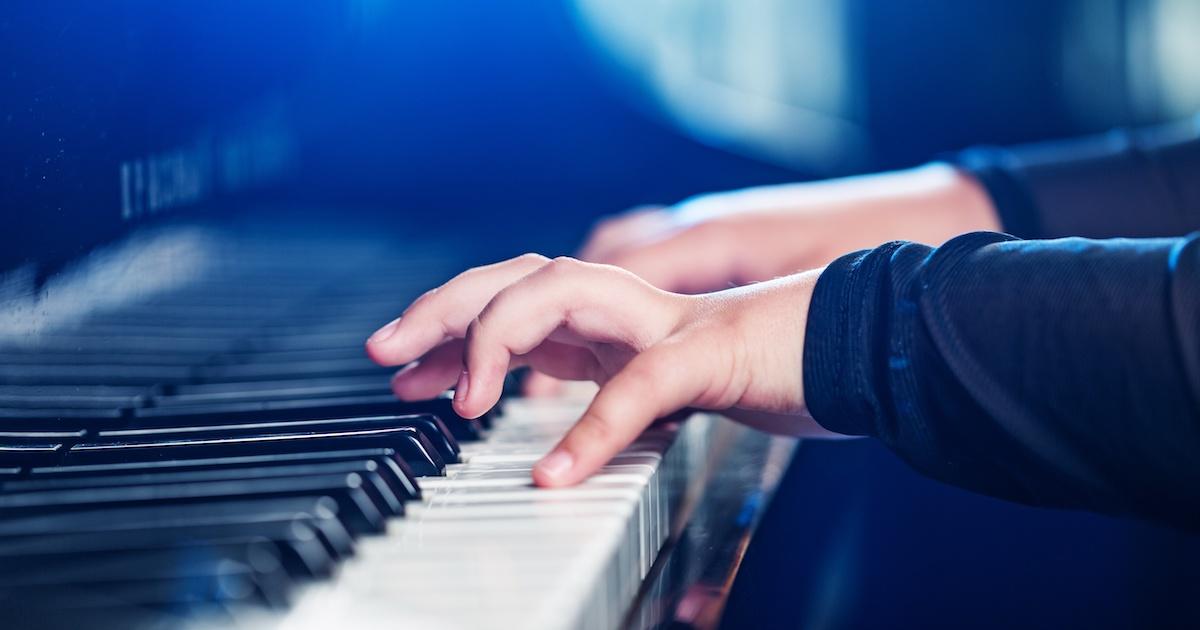 ピアノの発表会で実力を出す2