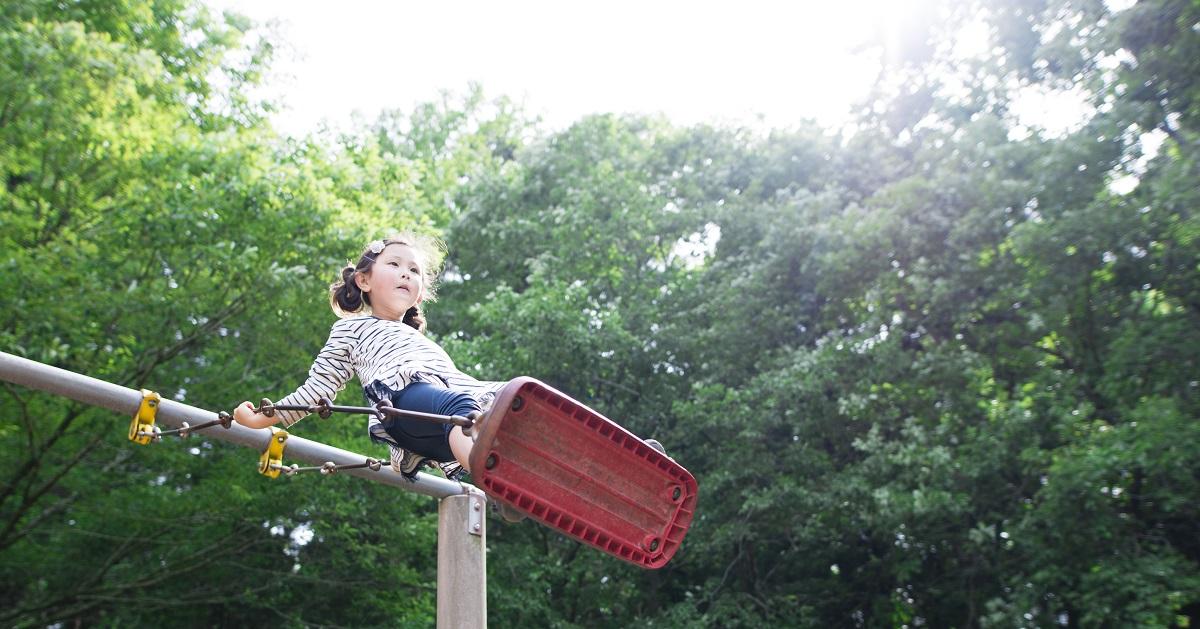 """「できた!」という達成感が自信につながる """"公園遊び"""" の魅力。2"""