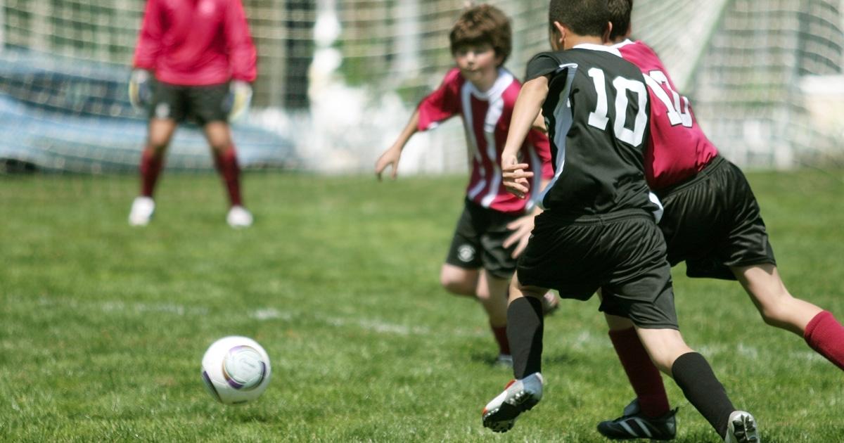 空間認識能力が高いと、サッカーで活躍しやすくなる。