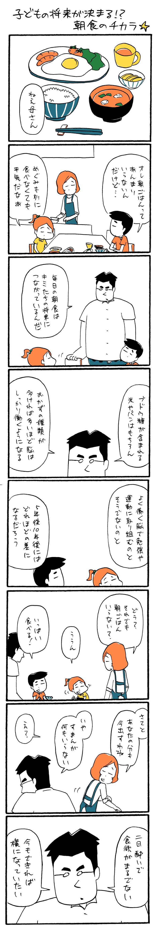 子どもの将来が決まる!? 朝食のチカラ☆