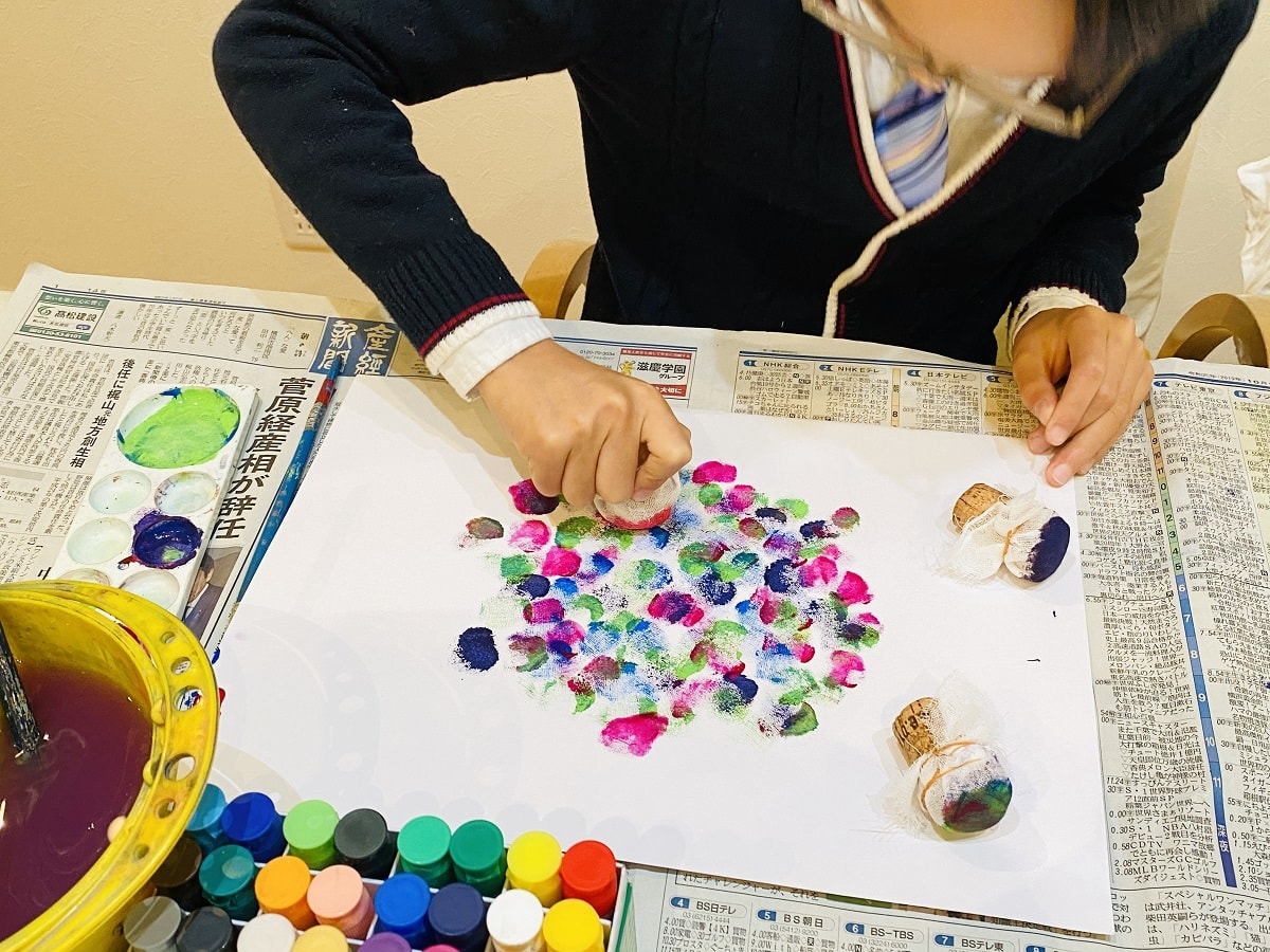 未就学児から楽しめるアート活動6