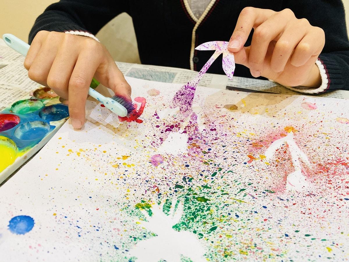 未就学児から楽しめるアート活動5