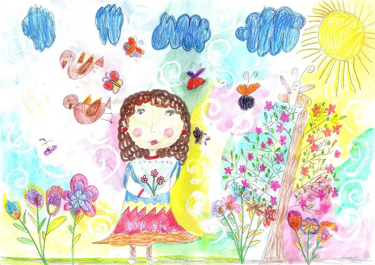お絵描きも工作も楽しめる「バレンタインカード」10