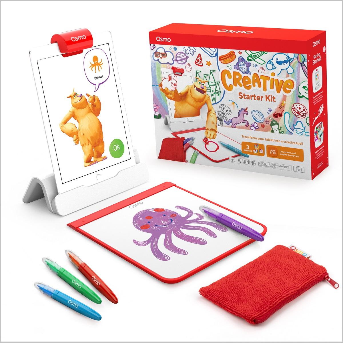 「子どもが育つおもちゃ」としておすすめの「オズモ クリエイティブ スターターキット」