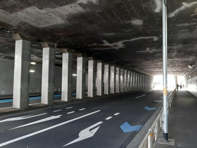 千駄ヶ谷トンネル