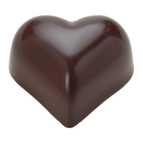 Coeur Avocat 黃色藏心巧克力