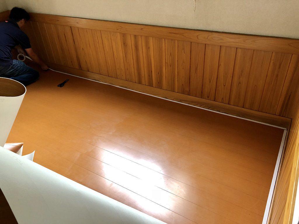 ミーティングコーナーのリフォーム イー・レンジャー株式会社