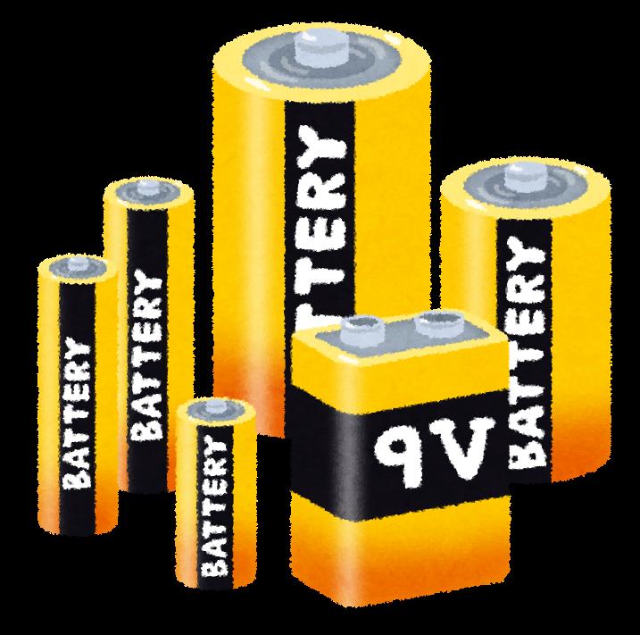 非常灯に使われる充電式電池とは?基礎・基本を学ぶ