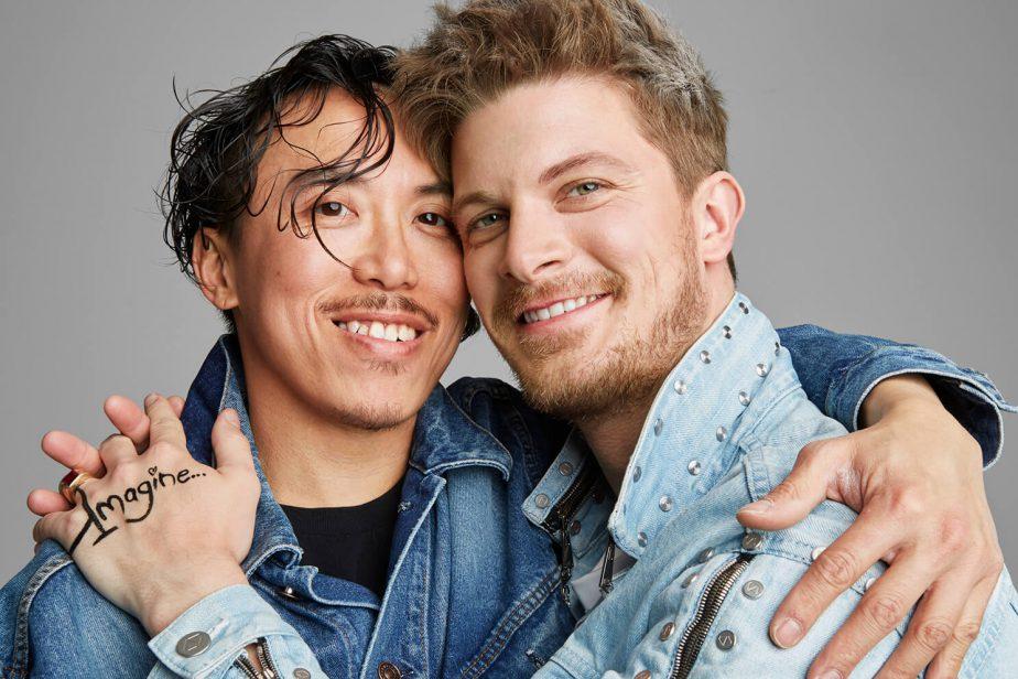 Leslie Keeと Joshua Vincent Oggの写真
