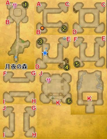 月読みの塔宝箱マップ2