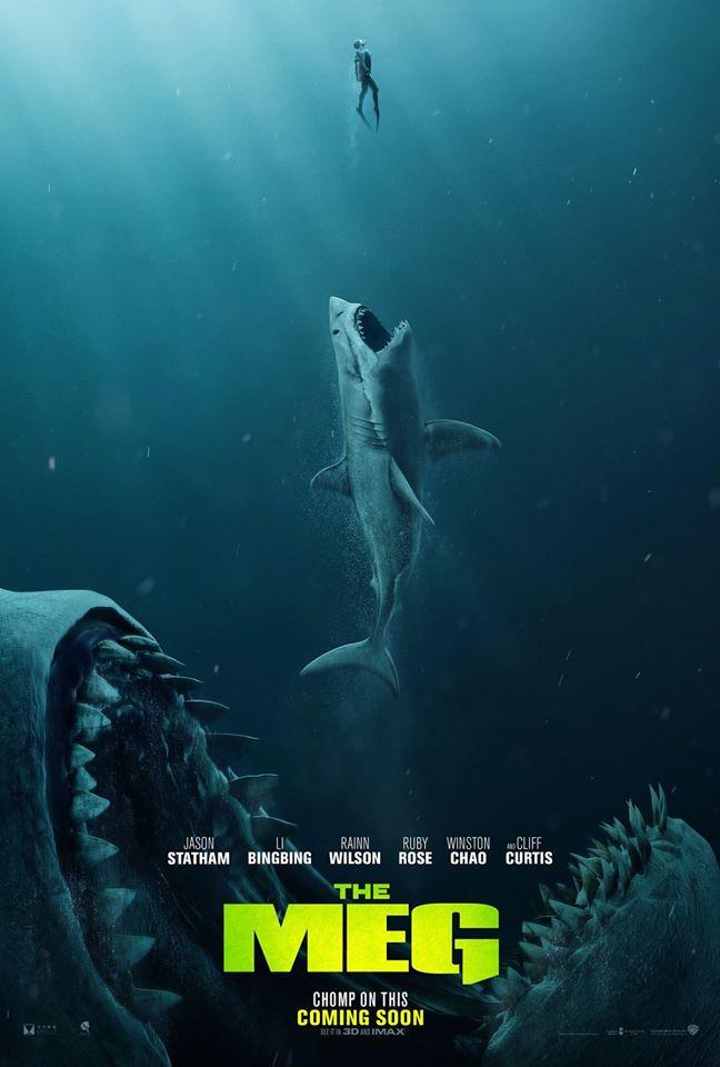 巨齒鯊3D The Meg