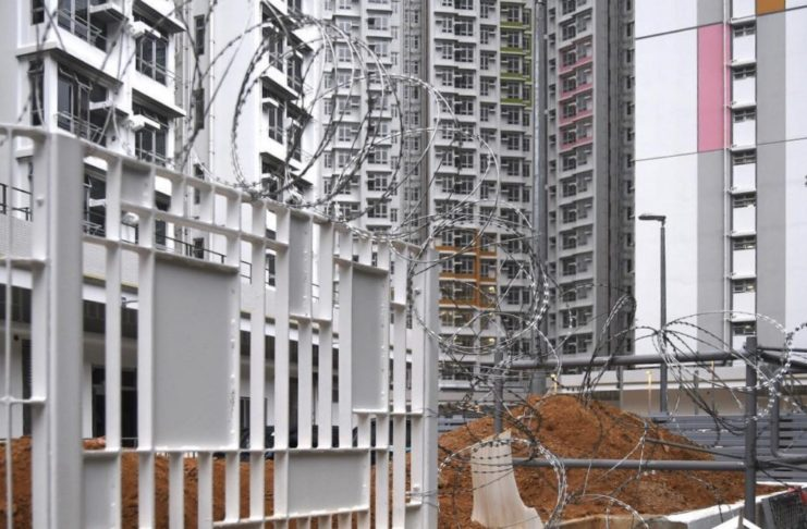 HK Government Broke Promise Requisitioning Public Housing Estate as Isolation Camp, Electrical Appliances being Installed and Ready for Use