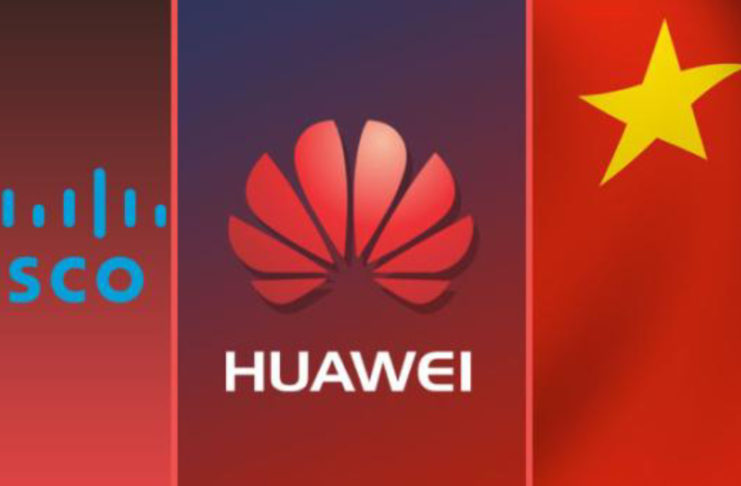 HUAWEI HACKING CISCO'S SOURCE CODE