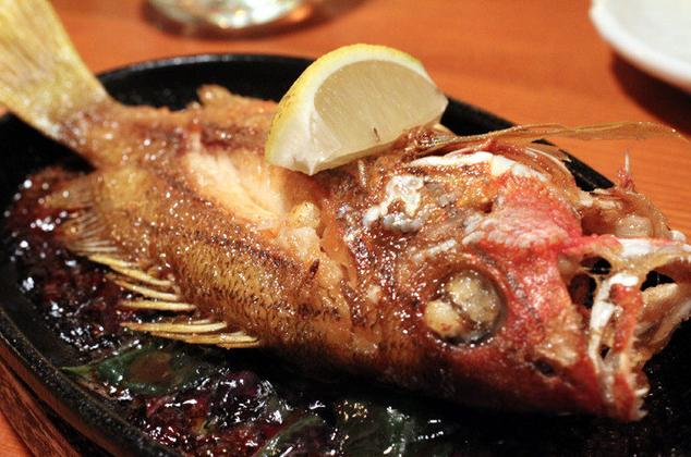柚子 焼き魚