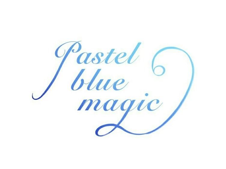 pastel blue magic