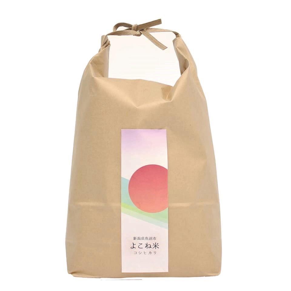 魚沼産コシヒカリ よこね米 5㎏ 米/米通販