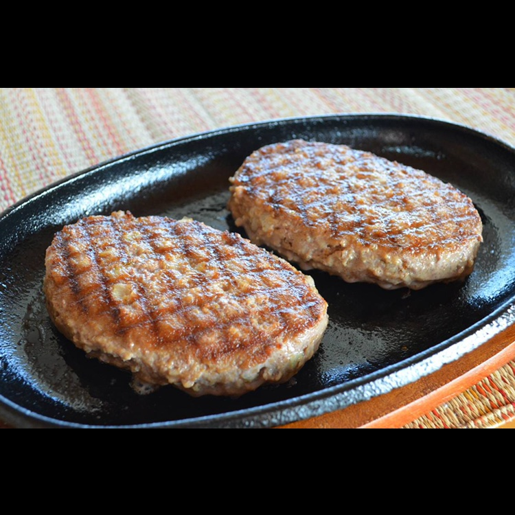 えりも短角牛肉100%ハンバーグ 100g×10個 肉/牛肉通販