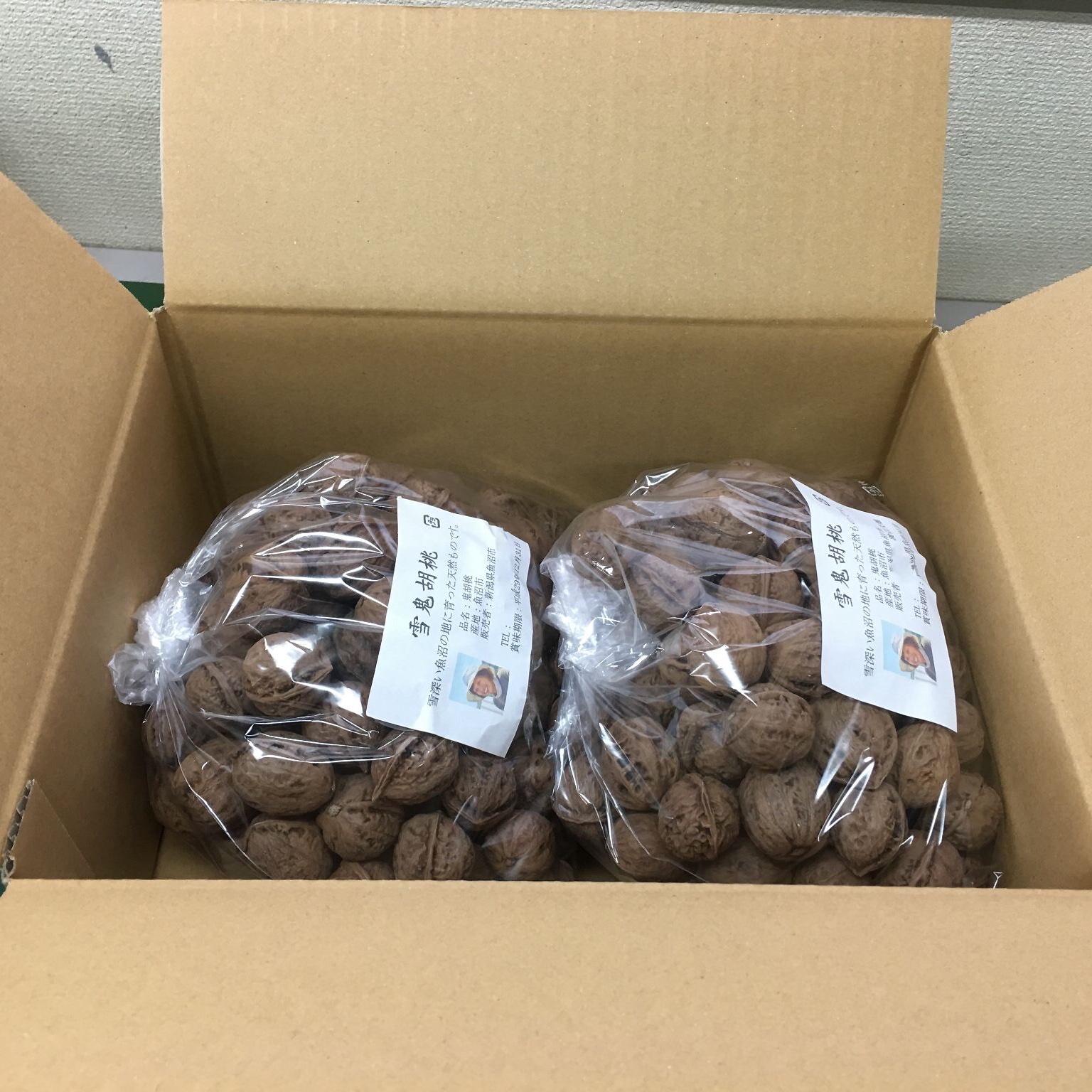 雪鬼胡桃 2kg 果物/その他果物通販