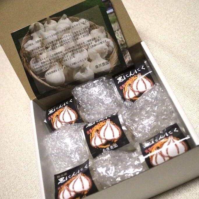 くわはら農園の熊本県産熟成黒にんにく L玉1個入 x  5袋 野菜/野菜の加工品通販