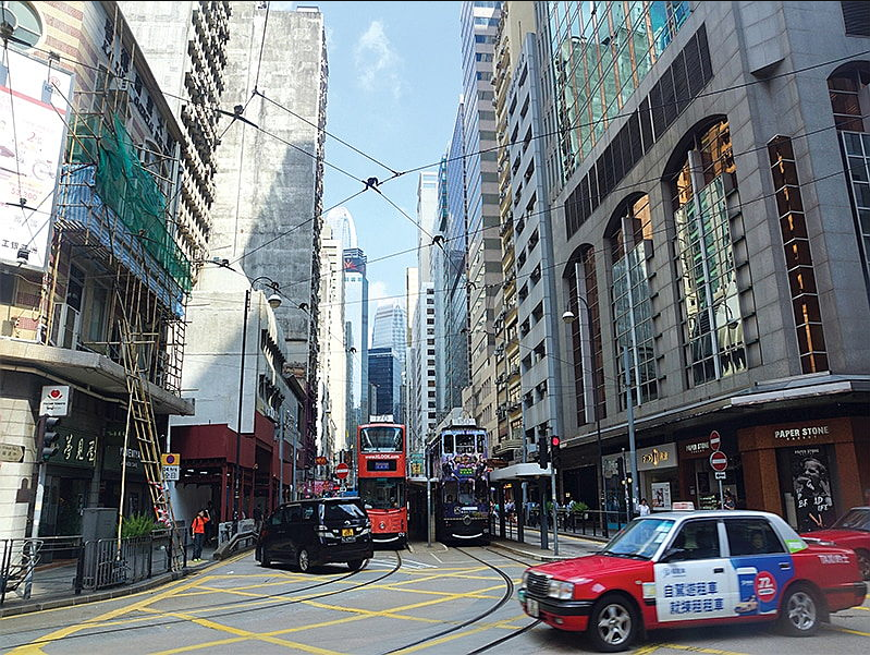 Living in Square Street to Tai Ping Shan in Sheung Wan